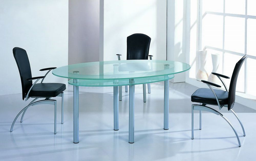 Amazoncom oval kitchen table Home amp Kitchen