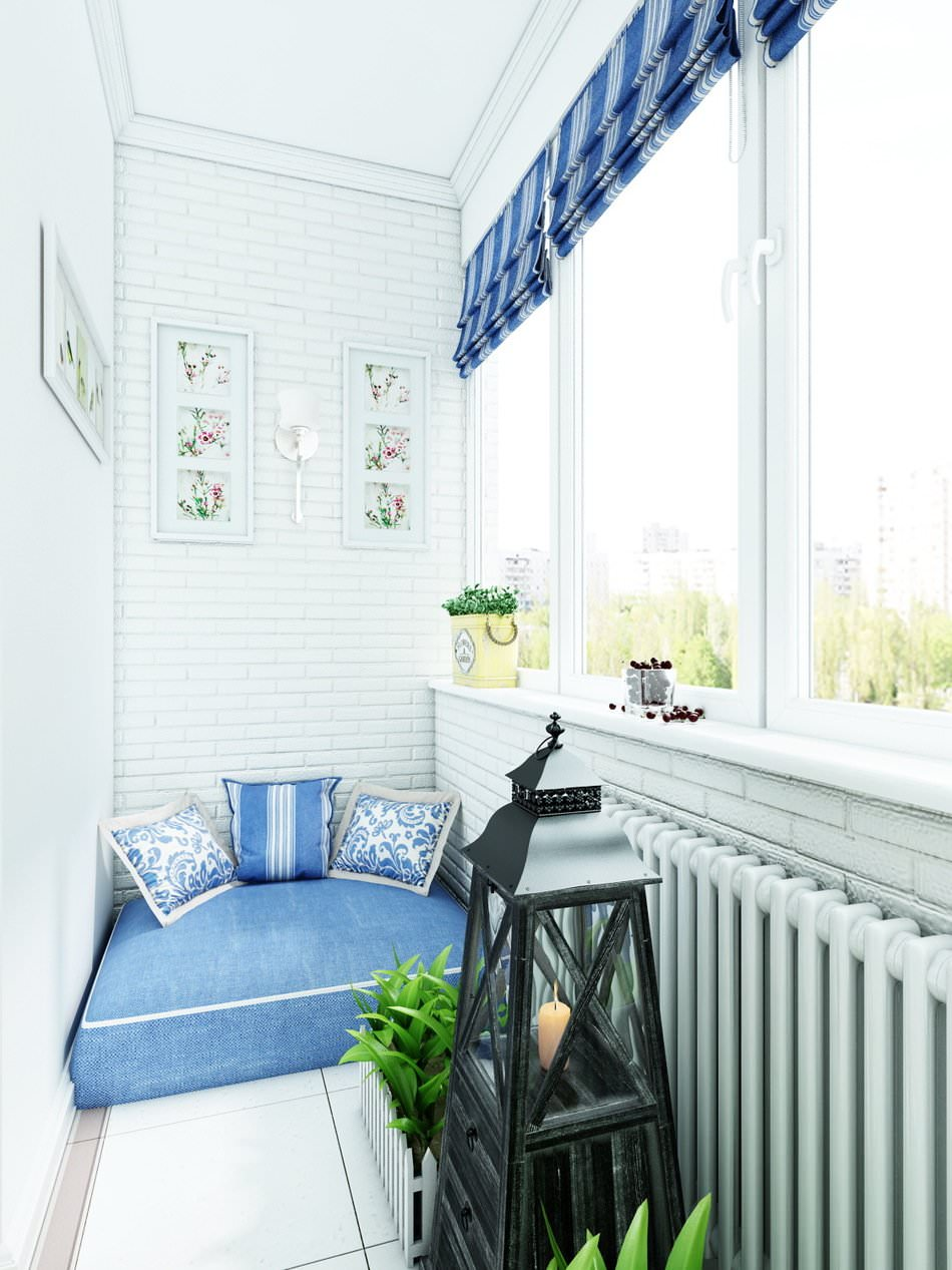 в стиле прованс фото дизайн балкон