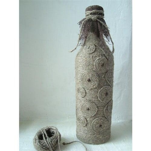 Бутылка нитками