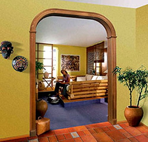 арка в романтическом стиле
