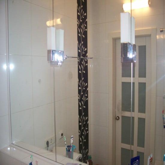 Декор для ванной зеркальный