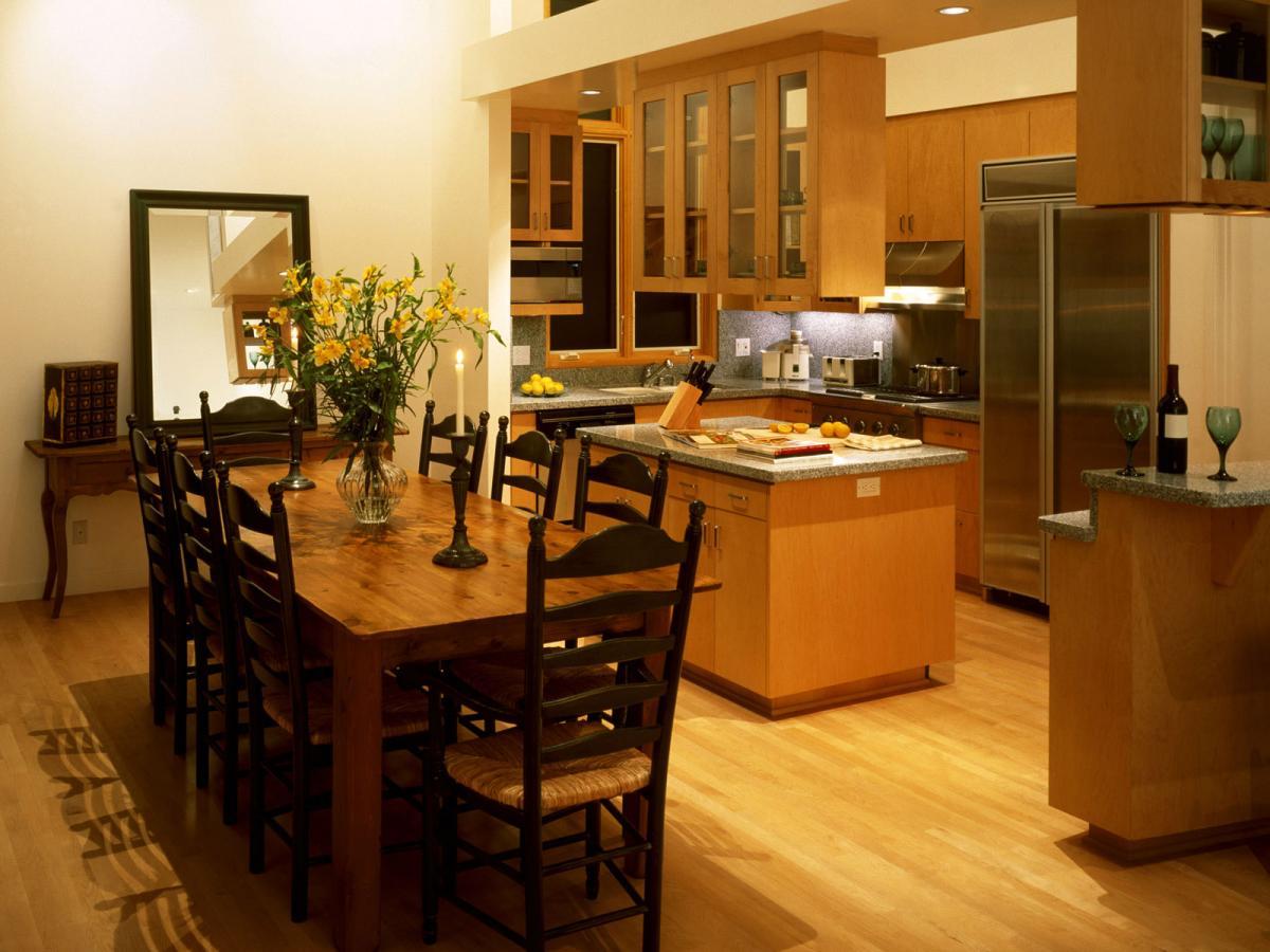 кухня столовая 15 м