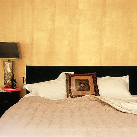 фактурная желтая стена