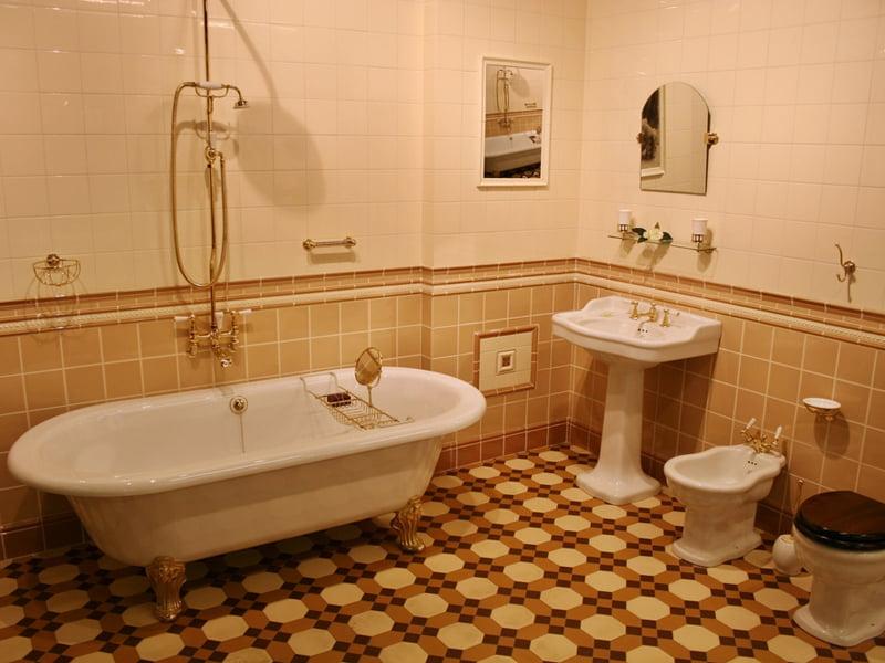 Бежевые ванные, дизайн интерьера, в бежевых тонах, фото ... Бирюзовая Гостиная