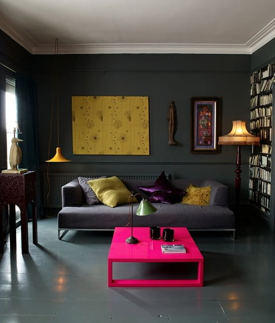 Интерьер для темной комнаты