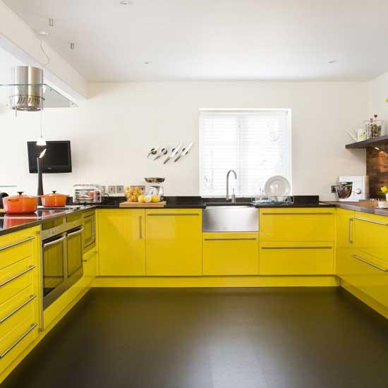 Дизайн и цвет маленькой кухни