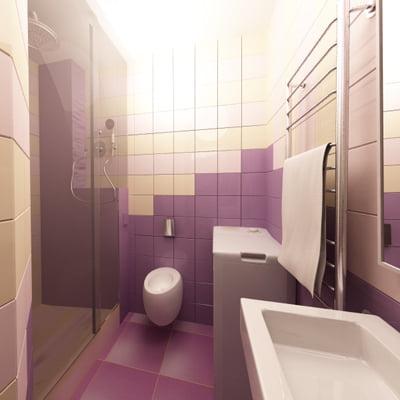 Маленькая ванная комната сиреневый eva gold ванная мебель