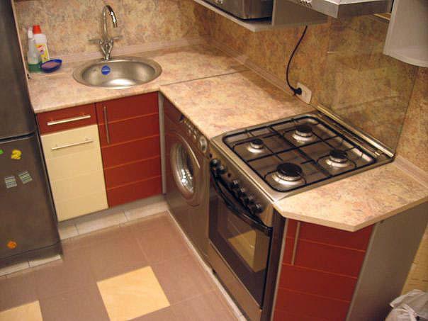угловая кухня 4 м