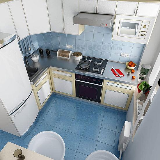 кухня 4 м хай тек