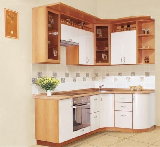 малогабаритная кухня в классическом стиле