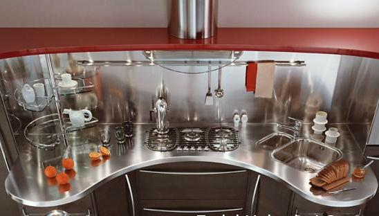 кухня металлик 4 м
