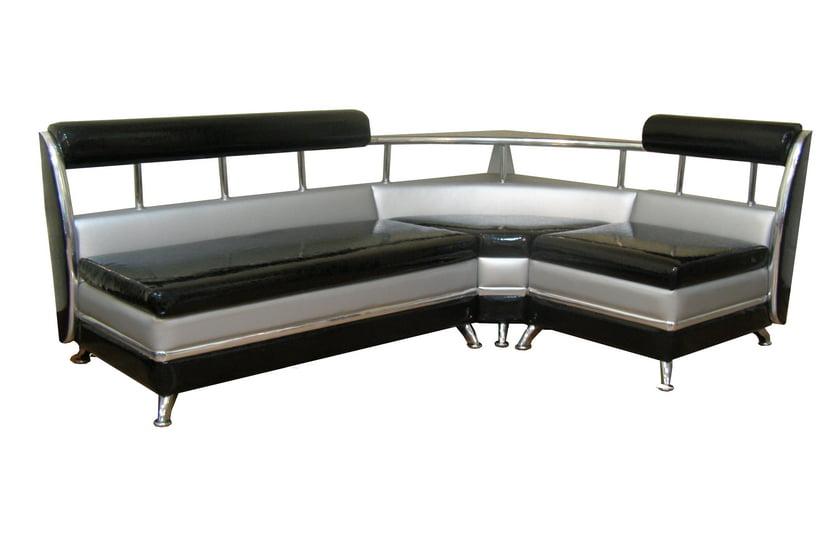 угловой диван на кухне фото дизайн в интерьере со спальным