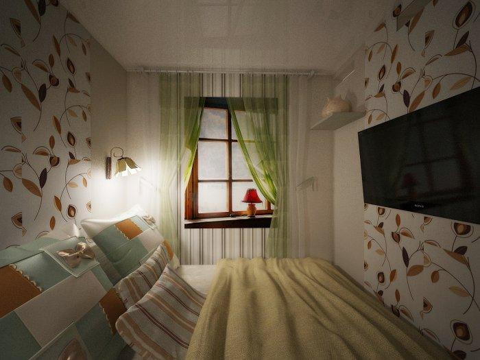 Комната без окна дизайн