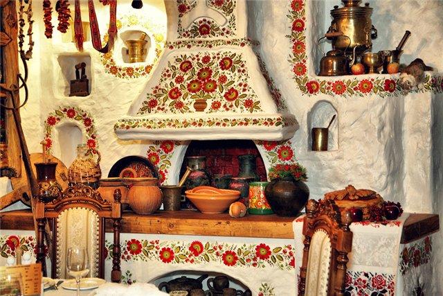 украинский стиль на кухне