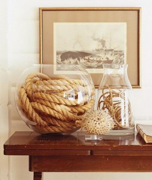 веревки в вазе