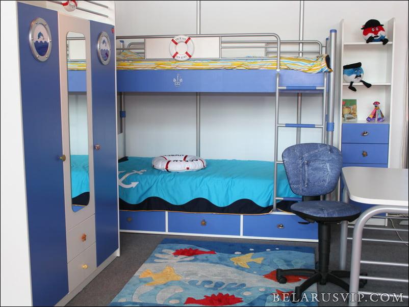 Дизайн детской кровати для мальчика