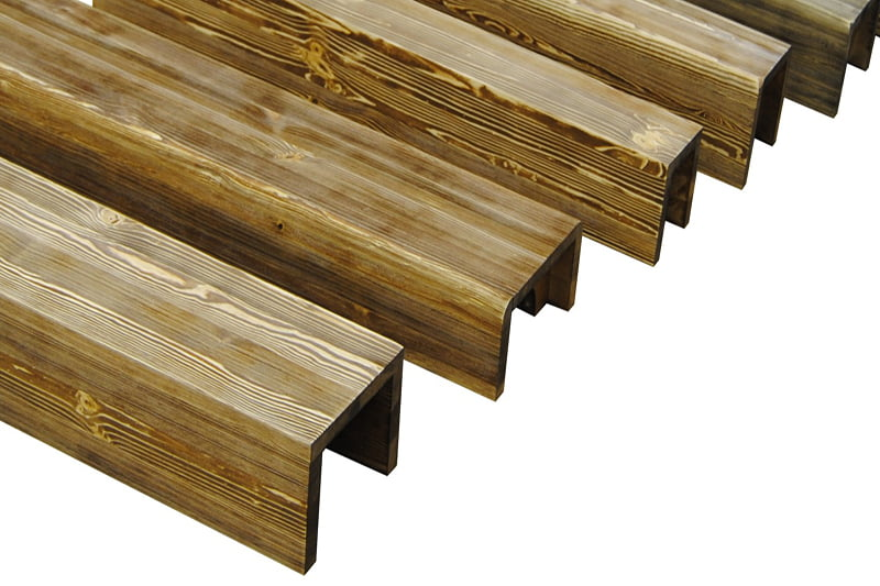 Перекрытия по деревянным балкам 48