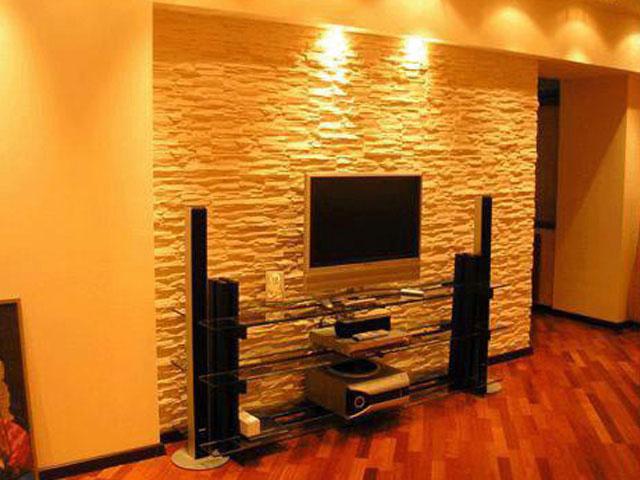 Декоративный камень для дизайна квартиры