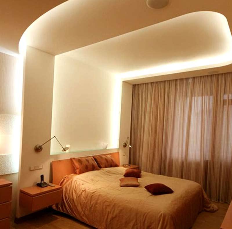 Дизайн потолков: Дизайн потолков в интерьере, виды потолков, в гостиной, в