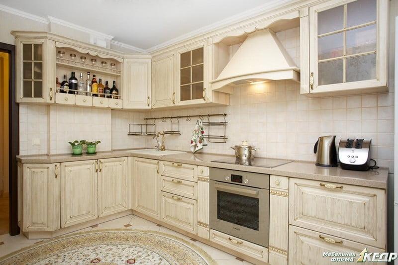 Кухня слоновой кости фото