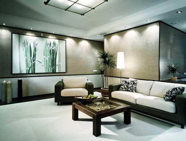 Stue i japansk stil