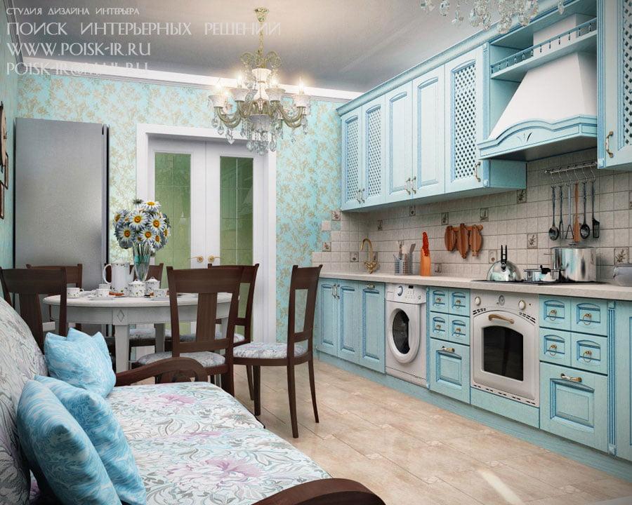 Угловые диваны на кухне