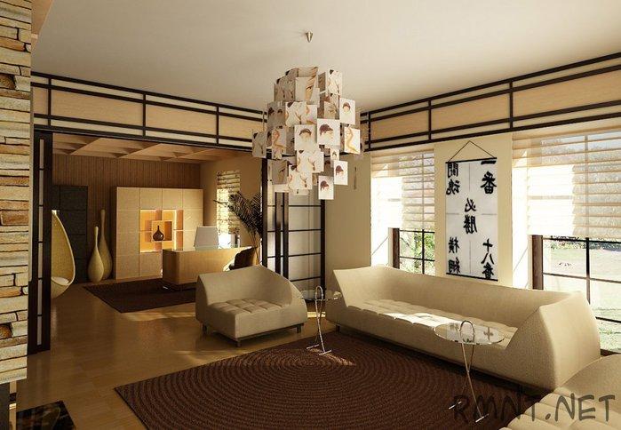Дом в японском стиле своими руками фото
