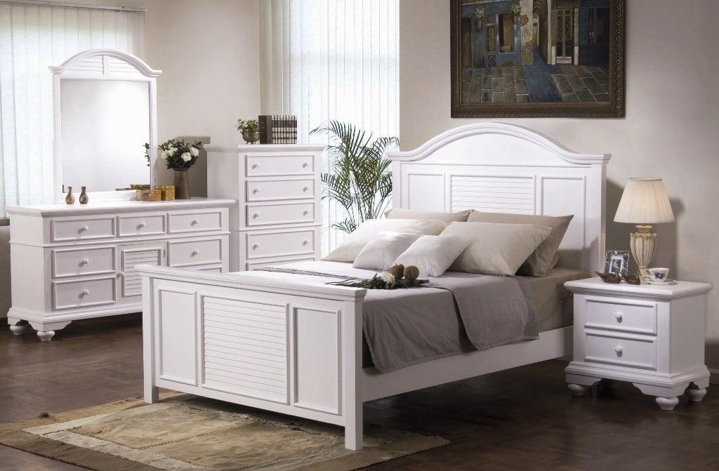 Белая мебель в интерьере фото