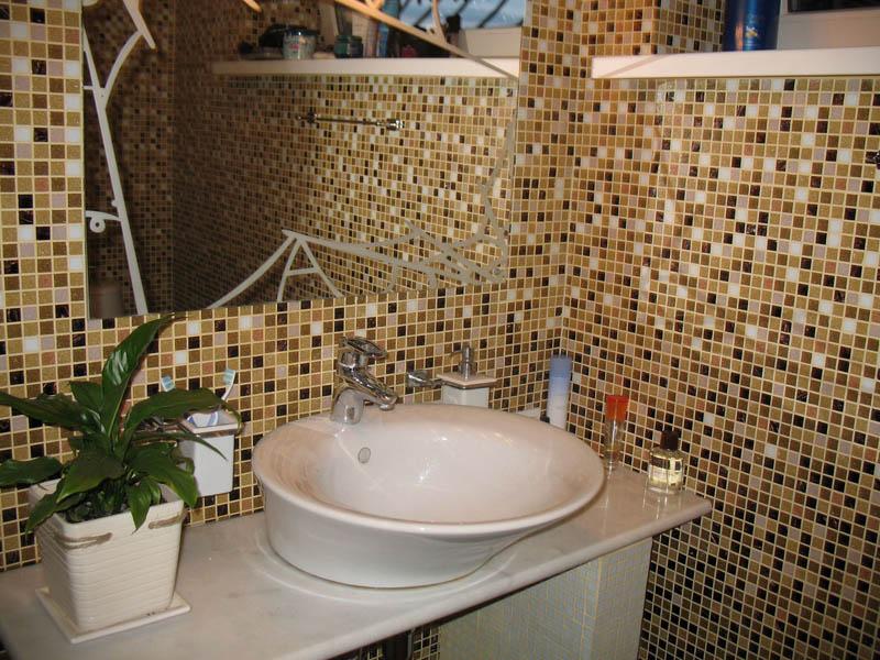 Ванная комната с мозаикой фото