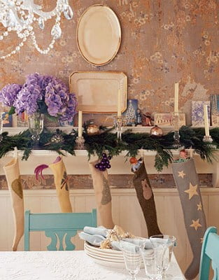 тарелки на стенах