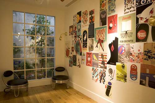 Постеры своими руками стен