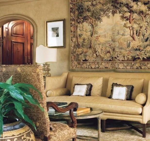 Современные ковры на стену в интерьере фото