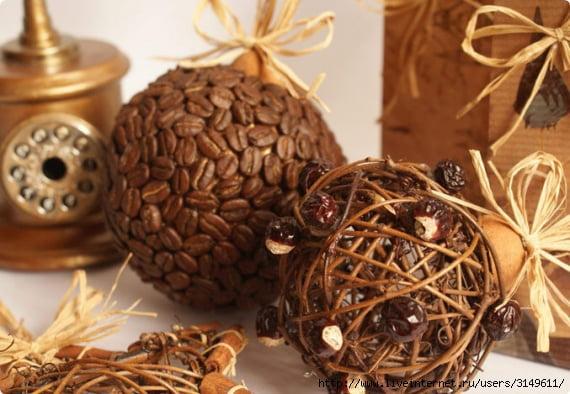 шары из кофе