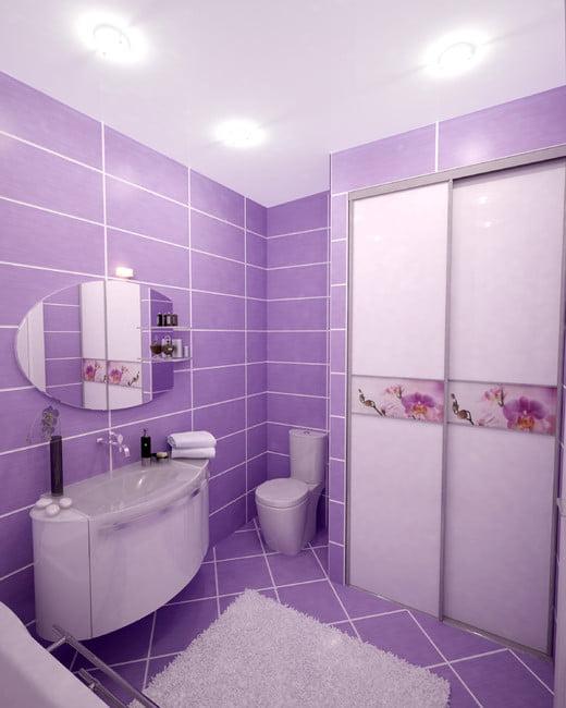 Фэншуй ванная цвет дизайн