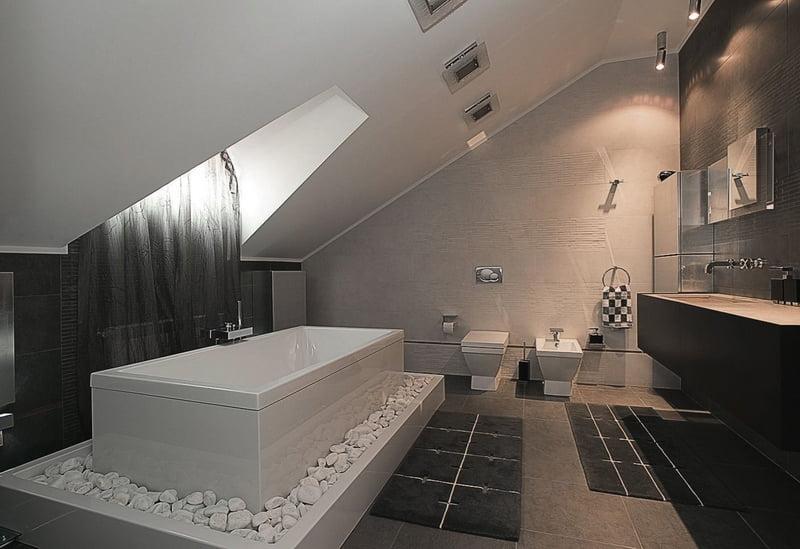 Ванна в стиле минимализм фото
