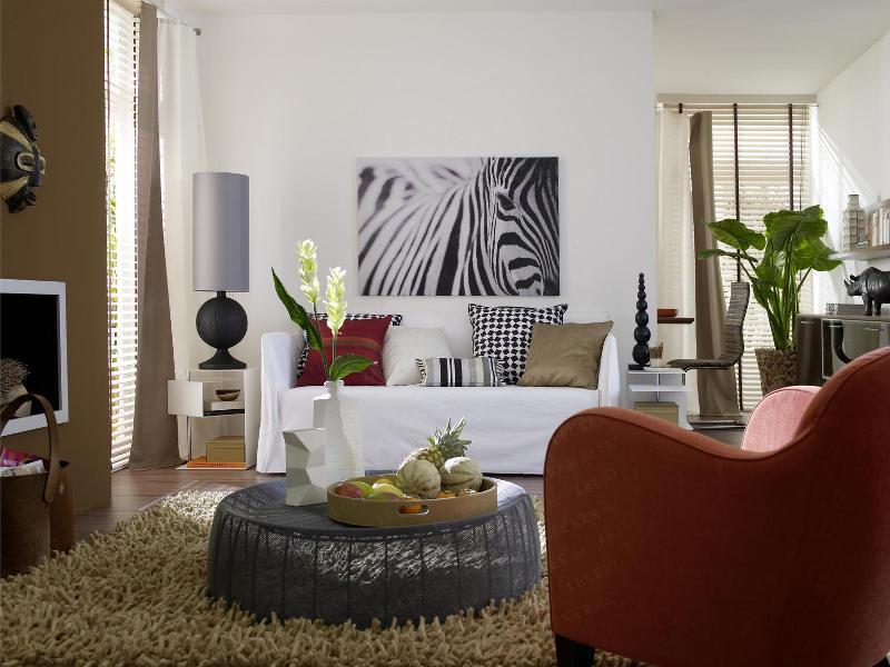 Дизайн комнаты в африканском стиле