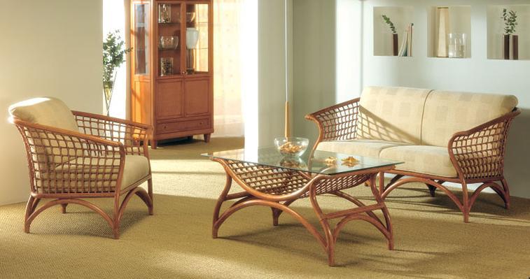 мебель из ротанга фото в интерьере