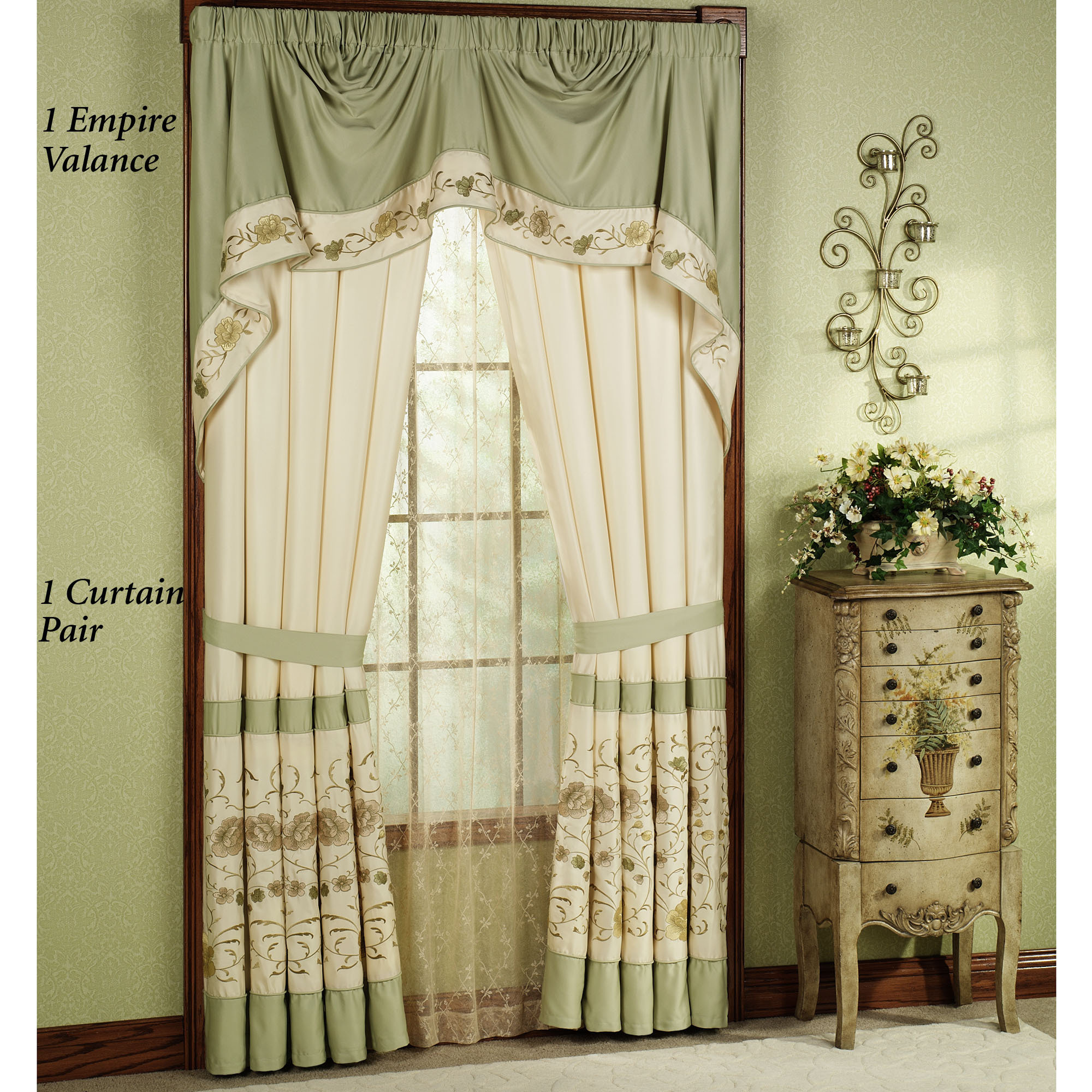 Dining room curtain styles